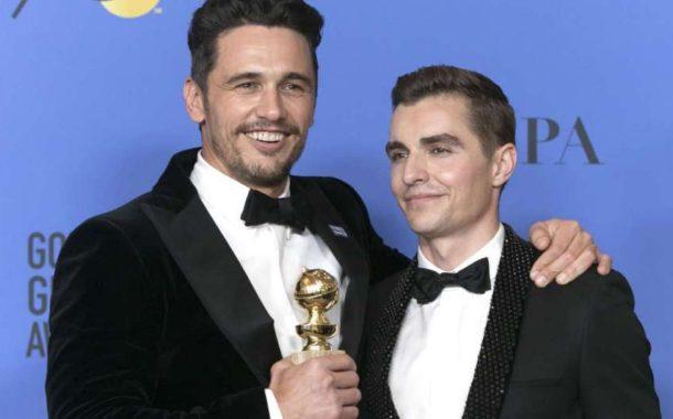 James Franco, ganador de un Globo de Oro, acusado de acoso sexual por tres actrices