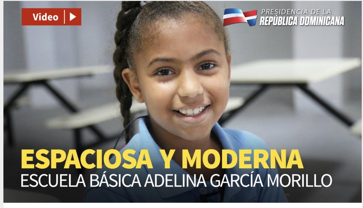 VIDEO: Espaciosa y moderna. Escuela Básica Adelina García Morillo