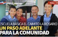 VIDEO: En Espaillat, Revolución Educativa se afianza; Danilo entrega tres escuelas y estancia infantil