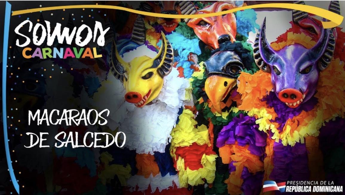 VIDEO:Macaraos de Salcedo. Somos Carnaval