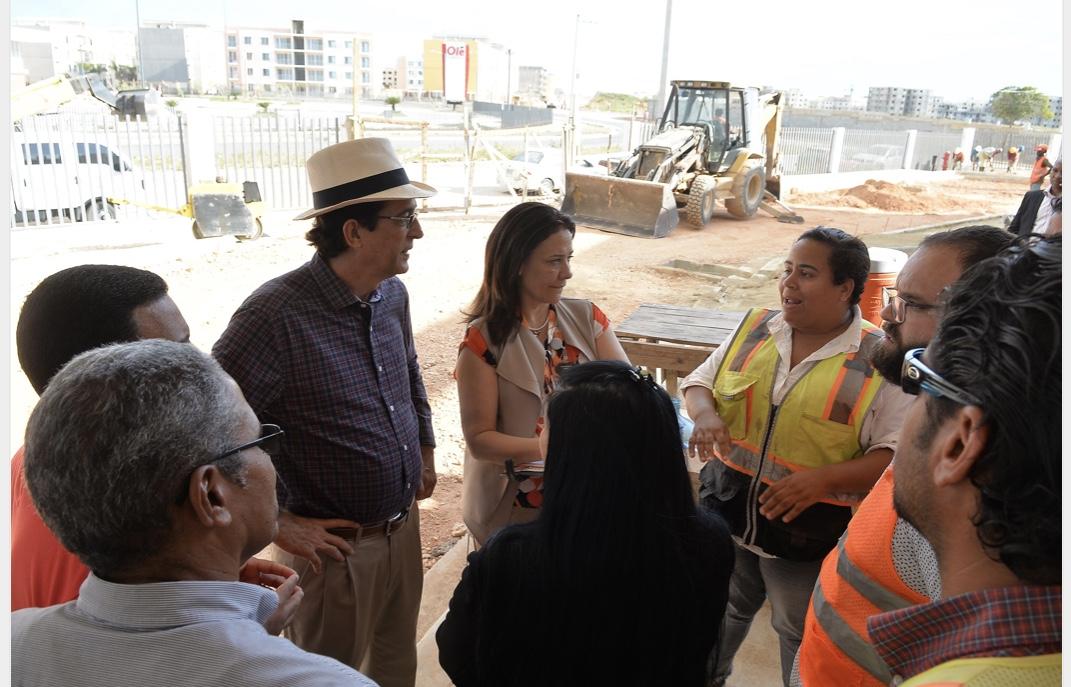 VIDEO: Gustavo Montalvo confirma Ciudad Juan Bosch sigue avanzando conforme a lo prometido