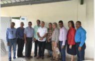 Ministro de la Presidencia, Gustavo Montalvo, visita proyectos apoyo ganadería en La Sierra