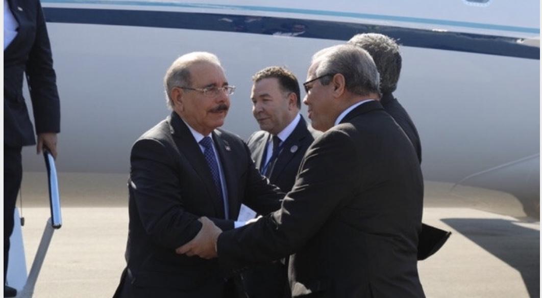 Danilo Medina llega a Costa Rica para estar presente en traspaso de mando de Carlos Alvarado Quesada