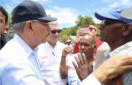 VS206: Danilo realiza amplio recorrido por la frontera; instruye soluciones para comunidades