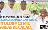 VIDEO: VS 209. Vicentillo, El Seybo. Crédito, secaderos, carretera, títulos y 12 mil tareas de cacao