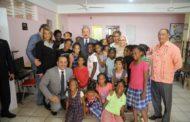 En respuesta a carta, Danilo visita Hogar Escuela Caridad Misionera en San Pedro de Macorís y se ocupa de necesidades de niñas acogidas