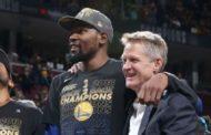 Gerente gral. de Warriors: Le daremos a Kevin Durant lo que quiera