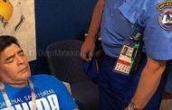 Maradona dice que se encuentra bien tras indisposición