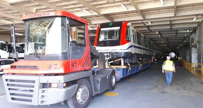 Los trenes del Metro para la línea 2B llegarán a partir del 24 de este mes