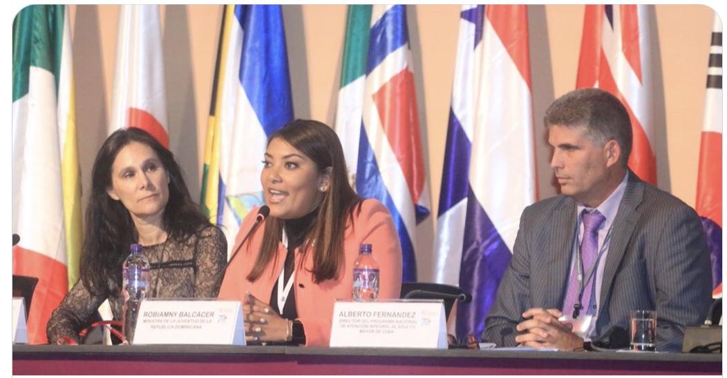 Ministra de la Juventud resalta compromiso de RD en la Conferencia Regional sobre Población y Desarrollo de América Latina y el Caribe. #PoblaciónALC #RDCreceYSeDemocratiza