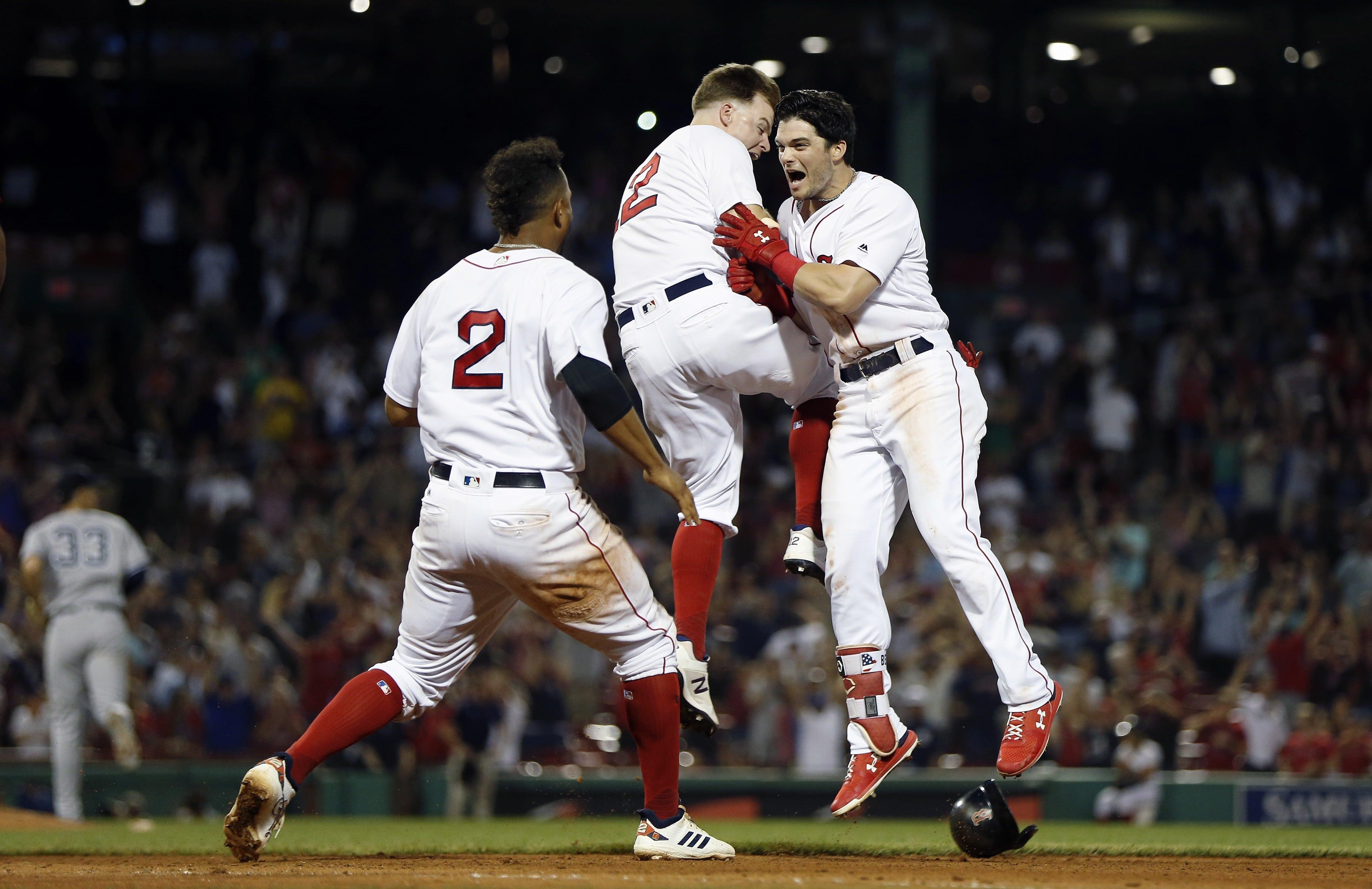 Boston barre a los Yankees