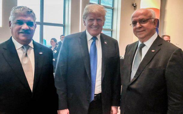 Miguel Vargas se reúne con Donald Trump y hablan sobre la @ONU_