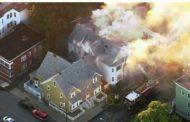 Massachusetts: pánico y fuego en 39 edificios tras una gigantesca explosión de gas