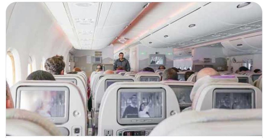 Las aerolíneas con el mejor Wi-Fi y la mejor tecnología en vuelo