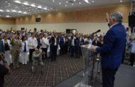 Miguel Vargas juramenta cientos de personas que pasaron a las filas del PRD