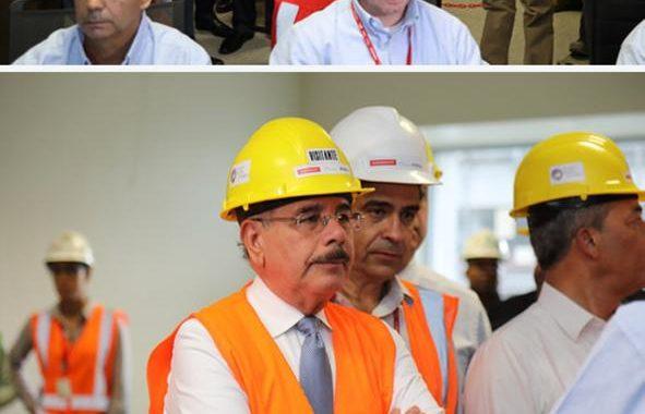 Presidente Danilo Medina participa en primer encendido prueba Central Termoeléctrica Punta Catalina