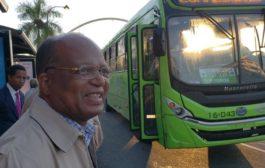 Director OMSA reforzará puntos con mayor flujo de pasajeros; supervisa corredor 27 de Febrero