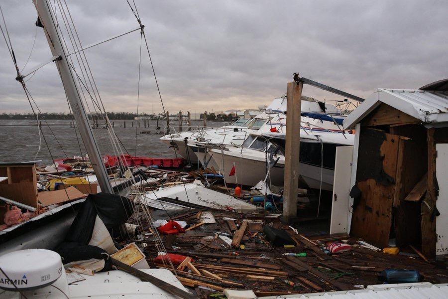 Huracán Michael deja un muerto en La Florida; baja a categoría 2