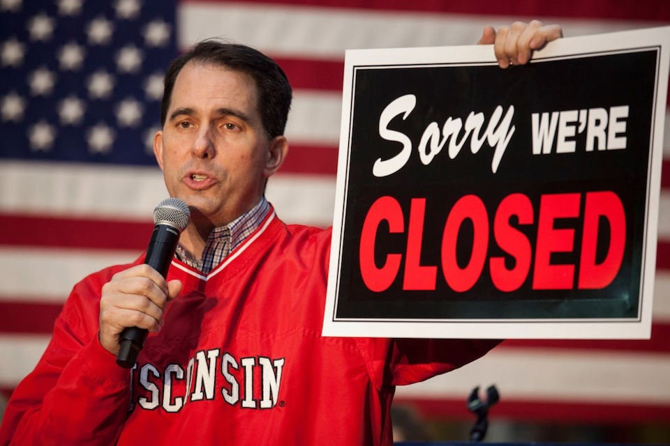 El republicano Scott Walker fracasa en su intento de reelección en Wisconsin