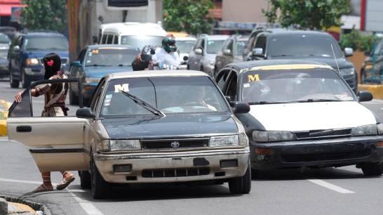Ruta de transporte denuncia ola de robos contra choferes