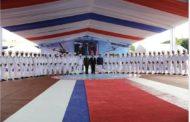 """Presidente Danilo Medina encabeza graduación de 36 cadetes de la Academia Aérea """"General de Brigada Piloto Frank A. Feliz Miranda"""", FARD"""