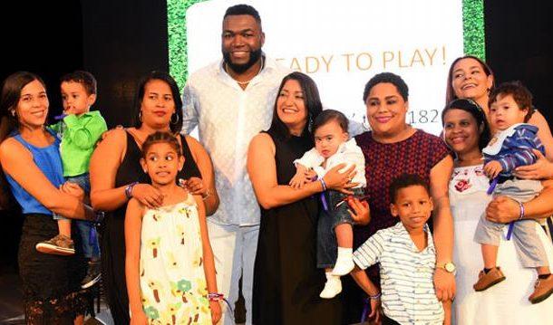 Culmina evento David Ortiz a favor niños con cardiopatía