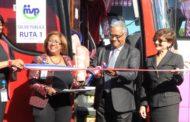 Salud inicia servicio de transporte para su personal de la sede central