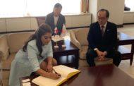 Ministra de la Juventud logra intercambio entre jóvenes de Hiroshima y dominicanos
