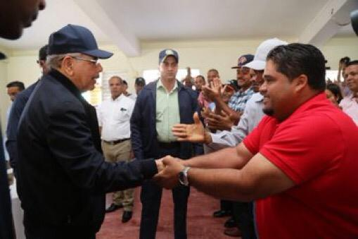 Danilo Medina realiza primera Visita Sorpresa 2019 en El Pino, Dajabón