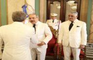 Presidente Danilo Medina recibe cartas credenciales nuevos embajadores de Francia, Colombia, Argentina, Cuba, Kuwait y Sudáfrica