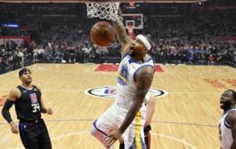 Warriors vencieron 112-94 a Los Angeles Clippers en el debut de DeMarcus Cousins con 14 puntos y 6 rebotes