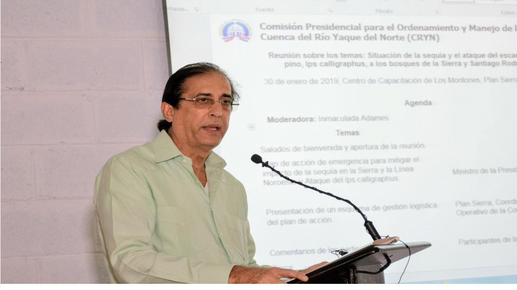 Gustavo Montalvo detalla acciones asumidas en La Sierra. Destaca colaboración instituciones públicas y entidades privadas