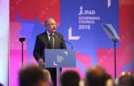 Discurso del presidente de la República Dominicana, Danilo Medina ante la 42 Sesión del Consejo de Gobernadores del Fondo Internacional de Desarrollo. Agrícola (FIDA)  14 febrero de 2019