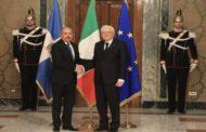 VIDEO:Presidente italiano Sergio Mattarella recibe y ofrece almuerzo a Danilo Medina, en el Palacio de Quirinal