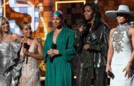 Grammy 2019: Michelle Obama  sorprende en el escenario junto a Lady Gaga y JLo