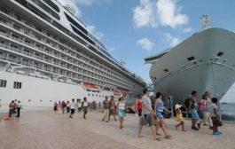 A RD han llegado cerca de 400 mil cruceristas en primeros dos meses de 2019