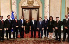 """VIDEO:Directivos de ANJE visitan a Danilo Medina para fortalecer alianzas en favor de jóvenes. Valoran puesta en marcha programa """"Primer Empleo"""""""