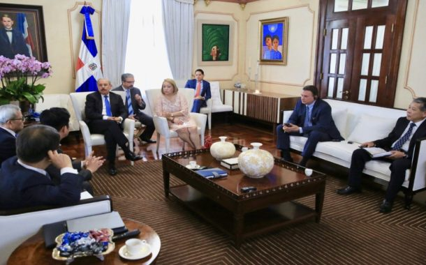 VIDEO: Empresarios coreanos interesados en invertir en República Dominicana, presentan proyecto al presidente Danilo Medina