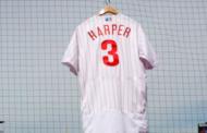 Jersey de Bryce Harper con Filis supera marca de LeBron James