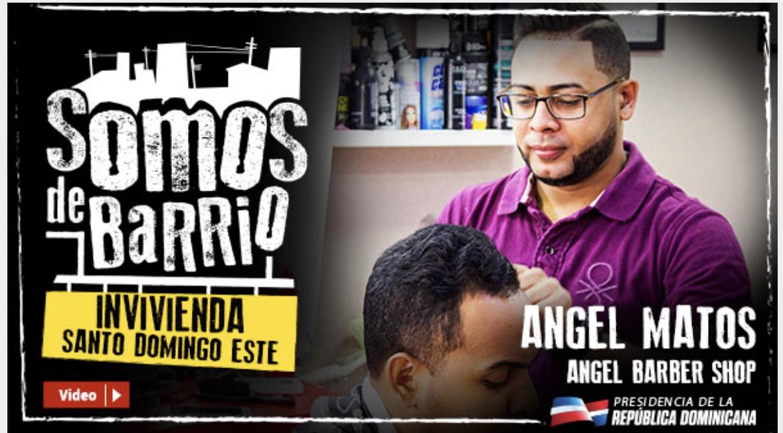 VIDEO: Angel Matos, Invivienda. Angel Barber Shop