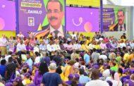 Danilistas en Santo Domingo Este se movilizaron en apoyo a gestión del Gobierno