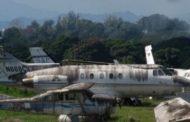 Se incautará de aviones abandonados aeropuertos