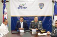 Policía Nacional e Infotep acuerdan plan de capacitación y actualización para los agentes