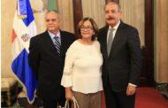 Comerciantes e Industriales de Santiago visitan a Danilo Medina. Agradecen políticas públicas en favor de la gente de esa provincia
