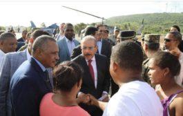 En Enriquillo, Danilo Medina entrega quinto Puesto Interagencial para proteger frontera y da primer palazo construcción Escuela Vocacional