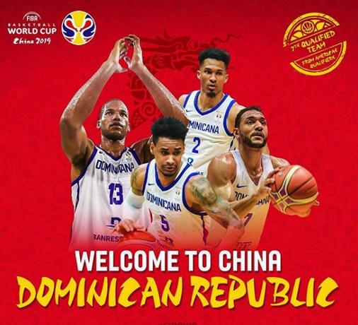 Así será la selección de los jugadores dominicanos para asistir al Mundial de Baloncesto en China