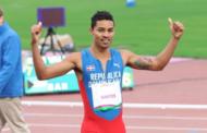 Velocista Juander Santos clasifica a la final de los 400 metros con vallas en Lima 2019