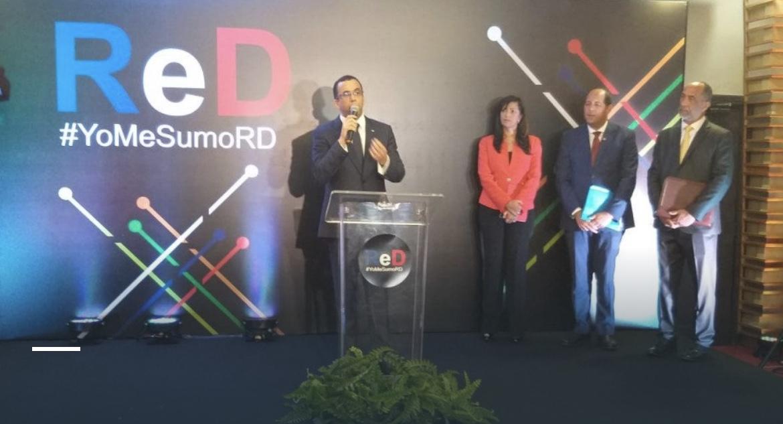 Andrés Navarro recibe apoyo de Red Social Dominicana