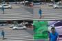 Los semáforos en China identifican a quienes cruzan mal la calle y exponen sus rostros en pantallas gigantes