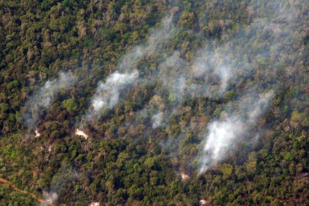 Nuevos focos de incendio elevan a 100 mil las hectáreas calcinadas en Paraguay